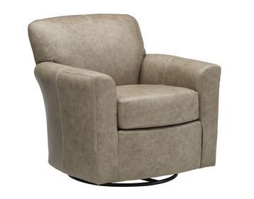 9 Leather Swivel Chair