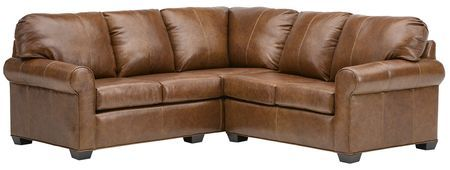 2640 Leather Sectional Group