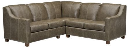 10450 Leather Sectional Group